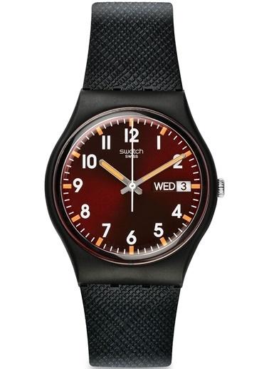 Swatch Gb753 Erkek Saati Siyah